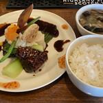 中華バルSAISAI。 - メイン、ライス、スープ