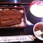 稲毛屋 - うなぎ重 松(1,800円)