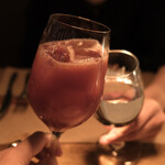 L'IGNIS - 乾杯は珍しくサングリア