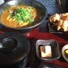 讃岐屋 雅次郎 - 料理写真:カレーうどんとから揚げのセット