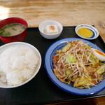 お食事処ひろ - 料理写真:野菜炒め定食
