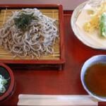 かんぽの宿栃木喜連川温泉  - 料理写真:ランチ(天ザルぞば840円)