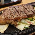 豊浜サービスエリア(上り) レストラン 千登世 - ステーキ