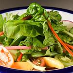 たか田 - 世田谷オーガニック野菜のサラダ