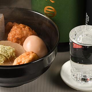 お酒も種類豊富にラインナップ!お刺身や日替わり料理も人気です