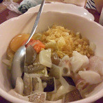14402650 - お好み焼き(卵あり、イカ、タコ、明太子)