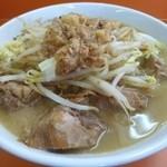 暴豚製麺所 - 豚小ラーメン(880円)