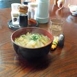 野口うどん - しっぽくうどん(小) 330円