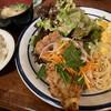 Quil fait bon - 料理写真:洋風ランチ850円。この日は長州鶏のなんばんでした。