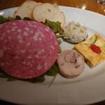 ボナ キッチン - ランチ前菜とサラダ
