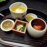 144029484 - ◆『ズワイガニの膳』◆「前菜」