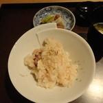 半くり - 烏賊と里芋の炊き込みご飯