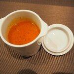 ケダーナス - 料理写真:食前のラッサム!