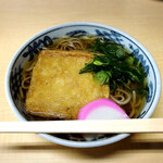 日吉そば - 料理写真:キツネそば700円