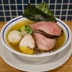 手打式超多加水麺 ののくら - ☆特製中華そば塩(●^o^●)☆