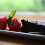 cafe ゴリョウ - 本日のケーキセット