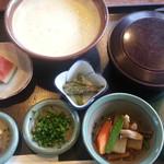 満里古茶屋 - 料理写真:麦とろ定食(1260円)