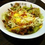 カレーハウスCoCo壱番屋 - 朝カレーセットのサラダ