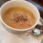 144040703 - セットの野菜スープ
