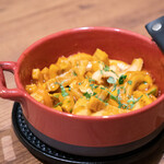 シンシア ブルー - マンボウの腸のトマト煮