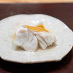 新地 やま本 - クエ 淀大根 胡麻味噌