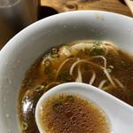 144044290 - 地鶏とTOKYO-Xのミクスチャー☆彡清湯ベースですが濃厚!後味はスッキリ!