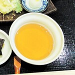麺料理 ひら川 - 天つゆ