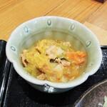 麺料理 ひら川 - 小鉢