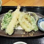 麺料理 ひら川 - 天ぷら