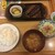 やま忠 - 料理写真:ダイナミックハンバーグ定食200g(¥1410)