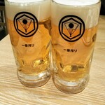 Gyutansumiyakirikyuu - 生ビールで乾杯です!