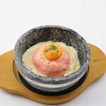 大衆酒場肉のオカヤマ - 〈ディナー〉石焼き明太子チーズリゾット