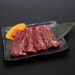 大衆酒場肉のオカヤマ - 〈ディナー〉赤身ロース