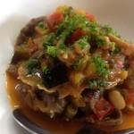 ビストロ与七 - 牛肉とラタトゥイユの煮込み