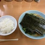 極楽汁麺 らすた - 料理写真:らすた麺 ライス中