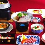 奥琵琶湖マキノ グランドパークホテル レストラン竹生 - 年末年始特別料理