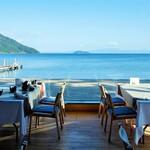 奥琵琶湖マキノ グランドパークホテル レストラン竹生 - レストラン竹生からの眺め