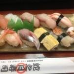 蛇之目寿司 - 季節限定にぎり