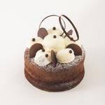 夢を描くお菓子屋さん パレット - 料理写真:ビターチョコレートをたっぷり使用した、しっとり濃厚なチョコレートケーキ