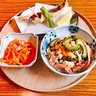 島人の料理の写真