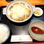 144069011 - 肉豆腐定食♪