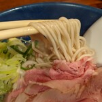 横濱丿貫 - 限定 濃厚猪弩煮干蕎麦+肉増し