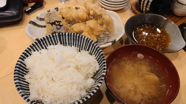 天ぷら刺身の旨い店 天ぷら 丸和の料理の写真