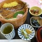 新南愛知カントリークラブ - 2012.08 穴子丼定食、まあそこそこ(1570円)
