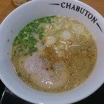 チャブトン - ちゃぶとんらぁ麺¥700