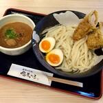 144080809 - 桜島鶏ささみ天とつけ麺(大盛)