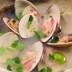酒の魚 和海 - 地蛤の酒蒸し