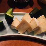 酒の魚 和海 - 豆腐の味噌漬け