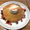 ユトリ珈琲 - 料理写真:パンケーキ