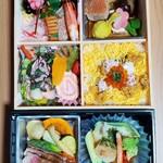 盛岡グランドホテル - 料理写真:正月祝い弁当花御膳